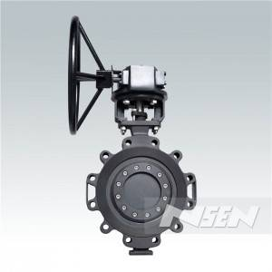 Low MOQ for Pneumatic Double Butterfly Valve -