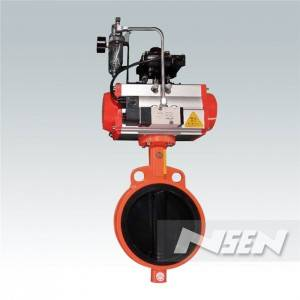 One of Hottest for Cylinder Butterfly Valve -