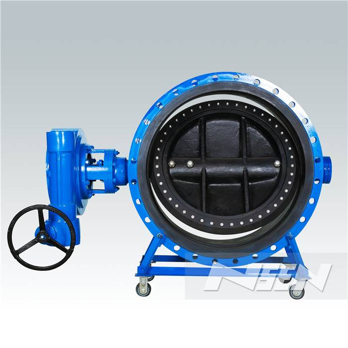 Fixed Competitive Price Double Flange Butterfly Valve -