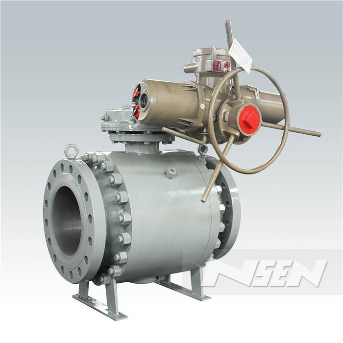 Factory source Cast Steel Trunnion / Floating Ball Valve -