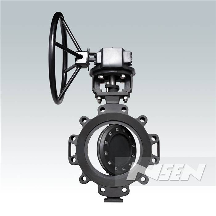 China New ProductBare Shaft Resilient Seated Butterfly Valve -