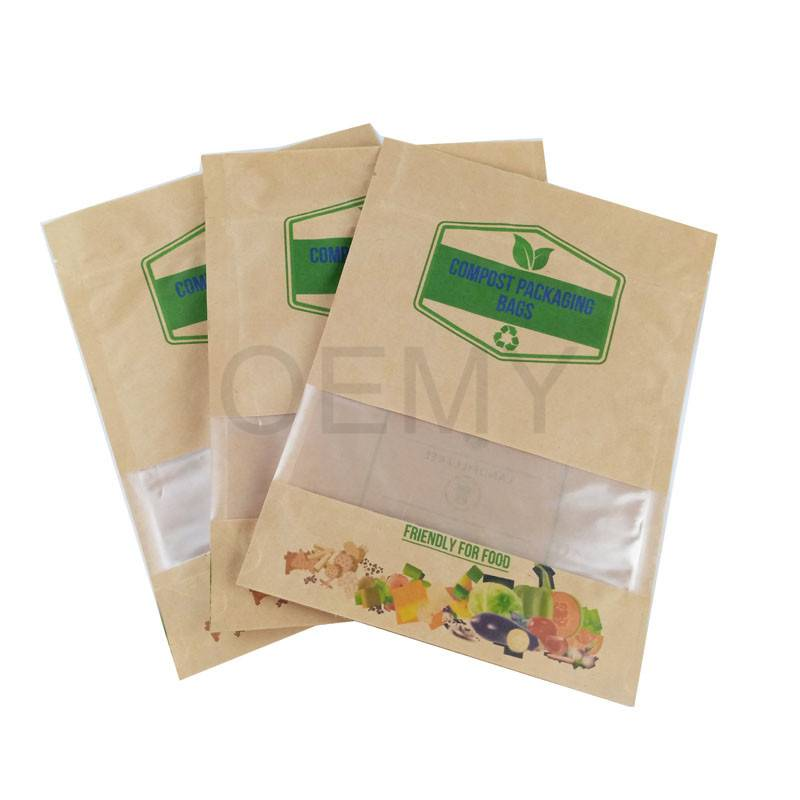OEM Supply Italian Coffee Packing Bags -