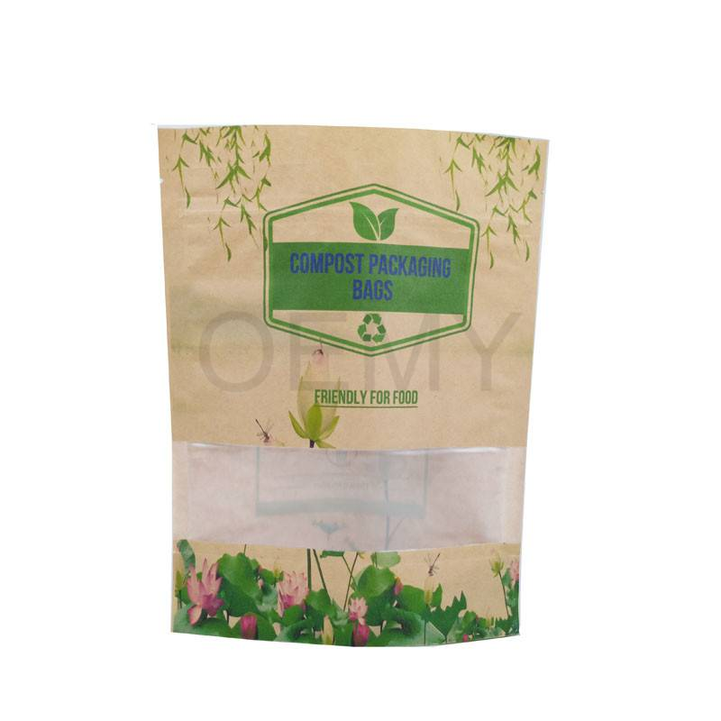 OEM China Printed Tea Package Pouch -