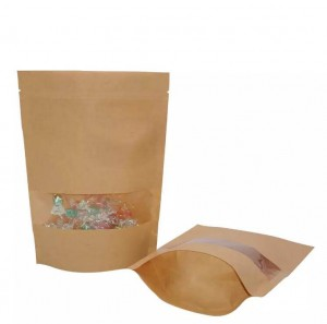 Great printed dried food stand up zipper packaging bags