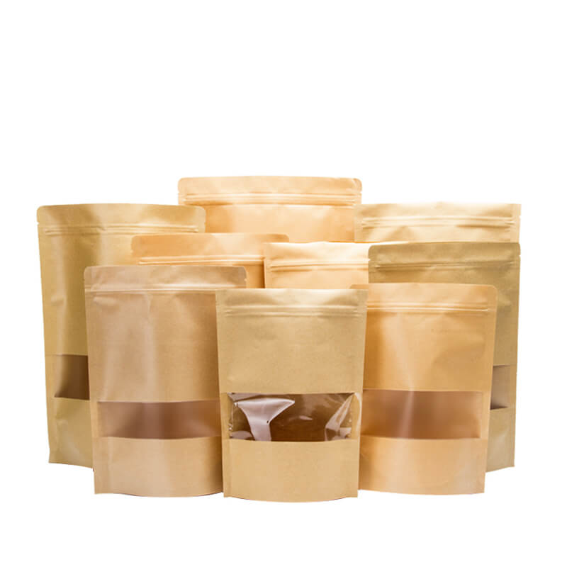 Different size kraft paper sandwich packaging bag Featured Image