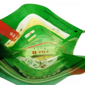 Fully biodegradable PLA gusset bags for rice packing