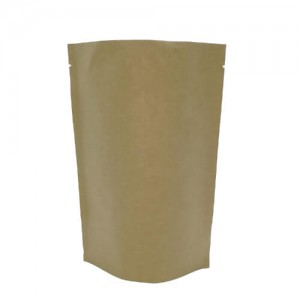 Stand up PLA Food Bag 100% Biodegradable Packaging Bags for coffee and tea