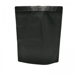 Opaque aluminum foil packaging bags for health food store