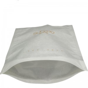 Stand up wheat packaging bags with zipper