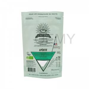 Manufactur standard Heat Seal Stand Up Pouch Bags For Dried Food