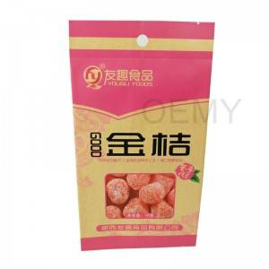 Chinese Professional New Products Doypack Snack Food Package Packaging Dried Fruit Bag