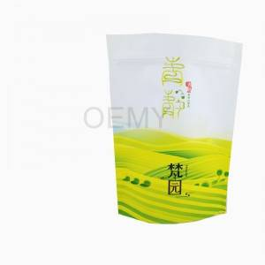 Excellent quality Tea Leaves Plastic Packaging Triple-seal Pouch With Zipper