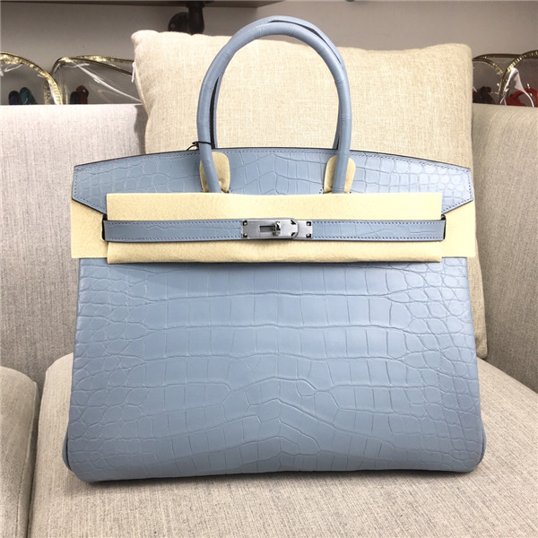 High Quality Famous Brand Grey Alligator Skin Ladies Handbags Featured Image