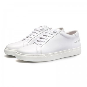 White Men Genuine leather Brand Design Casual Shoes