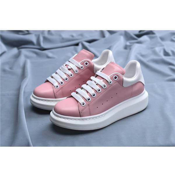 Pink Genuine Leather Shoes Women Featured Image