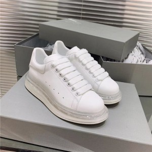 Most Comfortable four-season Sneakers for both women and men sneakers with red transparent bottom sole