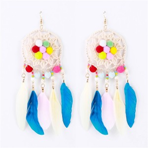 Wholesale Women Big Earrings Women Fashion Ladies Long Earring