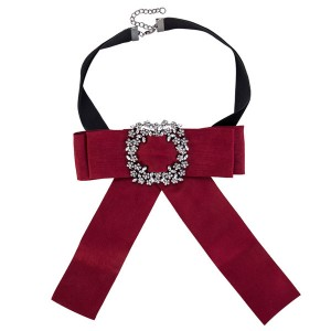 Wholesale Red Bow Corsage Beautiful Girls Bouto...