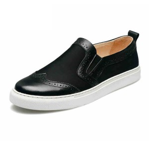 Best Sellers Black Slip On Sneakers For Men