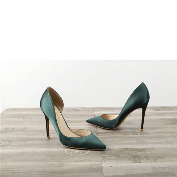 Drop-ship In Store Satin Silk Sexy High Heel Shoes Featured Image