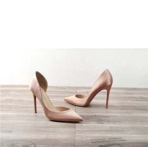Drop-ship In Store Satin Silk Sexy High Heel Shoes