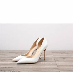 Drop-ship In Store White Patent Leather Party P...
