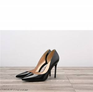 Drop-ship In Store Nude Patent Leather Pumps Shoes