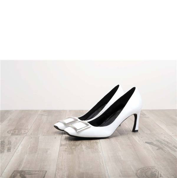 Worldwide Drop-ship White Pumps Heels Ladies Featured Image