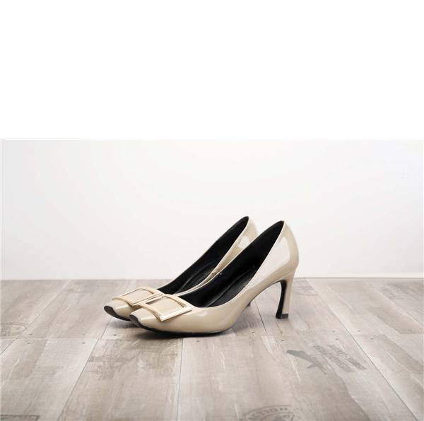 Worldwide Drop-ship Grey Pumps Shoes For Women Featured Image