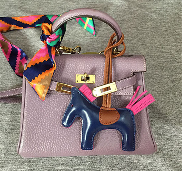 Pony Hanging Accessory Fashion Mini Leather Horse For Bags Accessory Featured Image