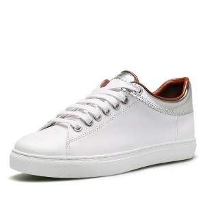 New Fashion White Leather Shoes For Men