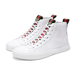 OEM Fashion White Microfiber Sneakers For Women And Men