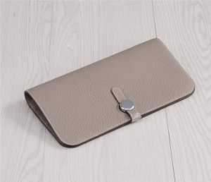 Factory Wholesale Natural Cow Skin Wallets For Women Clutch Wallet