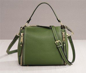 High Quality Ladies Bags Handbags Fashion Designer Soft Tan Leather Bags