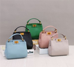 OEM Small Tote Bag For Ladies Fashion Customized Leather Bag