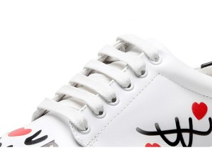 Lady Lace Up Trainers Famous Designer Sneakers