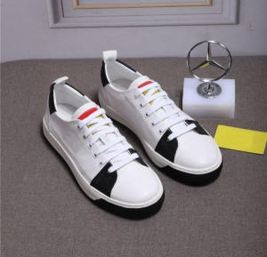 Best Quality Famous Brand Casual Sneakers Pure Leather Lovers Shoes With Shoes Lace