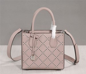 OEM Made Calfskin Bags Handbags Girls Leather Bag Light Pink