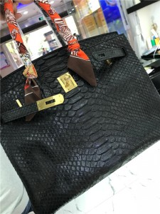 High Quality Famous Brand Bags Handbags Fashion Red Snakeskin Handbags 30cm & 35cm