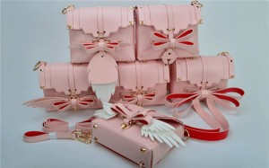 Most Popular Pink Synthetic Leather Bags Ladies...