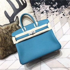 High Quality Turquoise Togo Leather Bags Handba...
