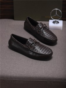 Custom Made Men Italian Dark Brown Nappa Shoes ...