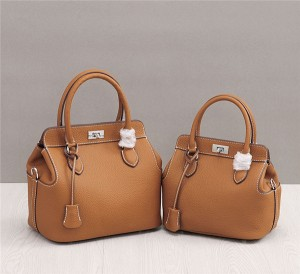 OEM Many Colors Designer Handbags Women Classical Famous Brand Bags Litchi Cowhide