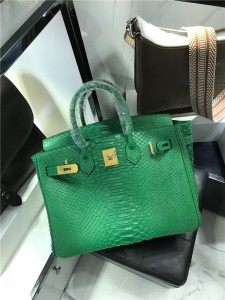Luxury Snakeskin Bags handbags factory with size 30cm and 35cm