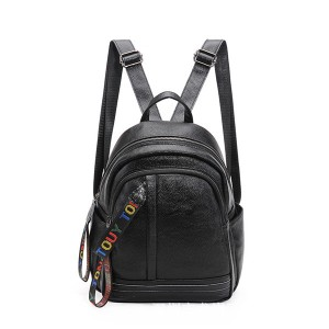 High Fashion Korean Version Travel Backpack Foe Women Branded Leather Backpacks
