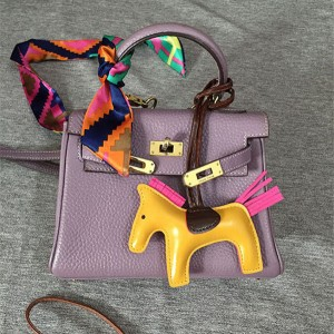 Pony hanging accessory fashion leather accessory women accessory bags accessory handbag decorations leatherware factory