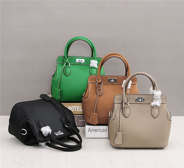 OEM Many Colors Designer Handbags Women Classical Famous Brand Bags Litchi Cowhide Featured Image
