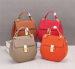 Korean Version Ladies Sheepskin Leather Bag Sling Chain Bag OEM