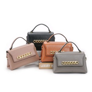 OEM Made Calfskin Saddle Bags Women Fashion Designing Bags