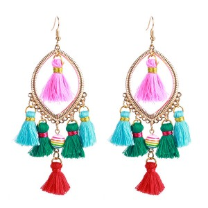 Wholesale Europe And The United States Trendy Earrings Tassel Earrings Women Fashion Bohemian Style Earring